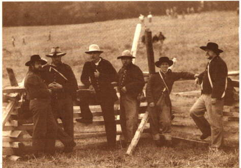 Photo of 4th NC at 135th Antietam